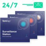Wie kann man Synology Kamera Lizenz Paket installiert werden?